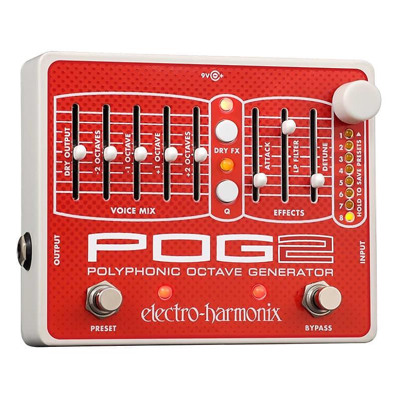 Electro-Harmonix EHX POG2 Polyphonic Octave Generator Effects Pedal