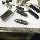 Bare Knuckle Stratocaster HSS Complete Pre wired Set Nickel/Black image
