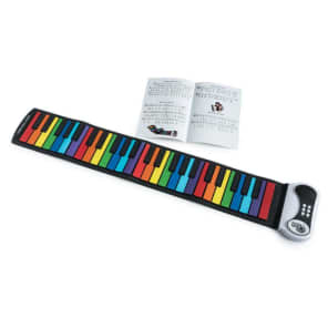 Mukikim MUK-PN49CLR Rock And Roll It Roll-Up Rainbow Piano
