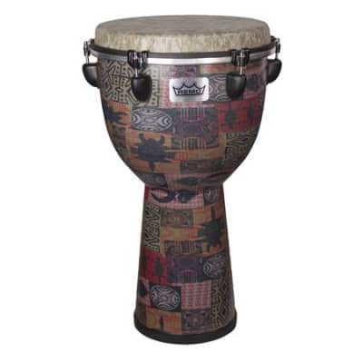 Remo Apex Djembe Drum Red Kinte 12 Inch