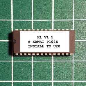 Kawai K1 OS 1.5 EPROM Firmware Upgrade KIT