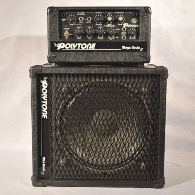 Polytone  Mega Brute Head and Cab Guitar Amplifier w/ Road Case for sale