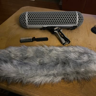 RODE Blimp Windshield and Shock Mount System for Boom Pole Microphone