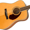 NEW! Fender PM-1E Standard Dreadnought, Ovangkol Fingerboard Natural w/Case Authorized Dealer