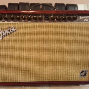 Fender  Fender Acoustasonic 150 Mahogany Guitar Amp #170 of #300 EVER MADE!! RARE!!!  2011 Clear Mah for sale