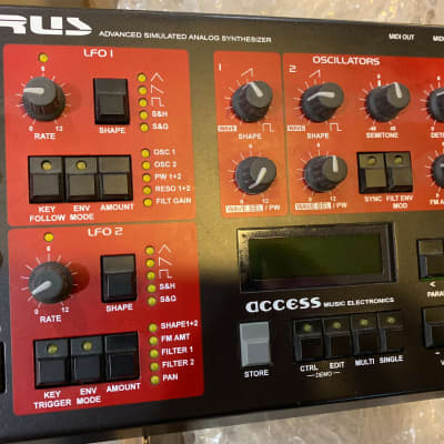 Access Virus A Desktop Digital Synthesizer