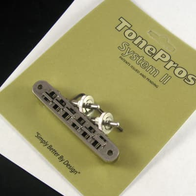 TonePros TP6-N Locking US Tune-O-Matic Bridge with Tailpiece