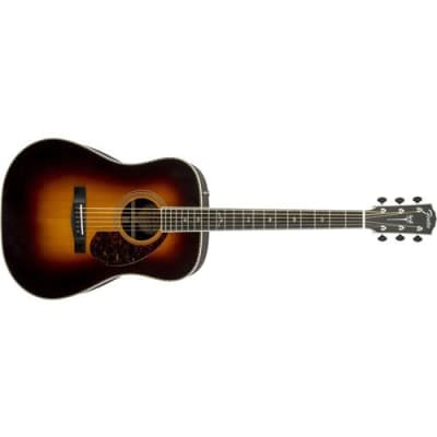 Fender PM-1 Paramount Deluxe Dreadnought Acoustic Guitar, Solid Sitka Spruce Top, Solid East Indian Rosewood Back and Sides, 20 Frets,  C  Shape Neck,