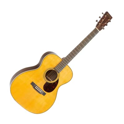 Martin Custom Shop OM-28 Wild Grain East Indian Rosewood Auditorium Acoustic Guitar for sale