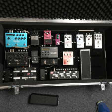 Tonesnob 36x18 Pedalboard with sturdy ATA Flight Case, Voodoolab PP2+ and Mondo