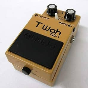 Boss TW-1 Touch Wah Pedal