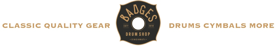 Badges Drum Shop