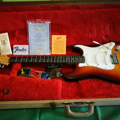 Fender Stratocaster 35 th Anniversary Limited Edition Early Custom Shop for sale