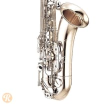 Yamaha YTS-62S Tenor Saxophone 1990s Silver image