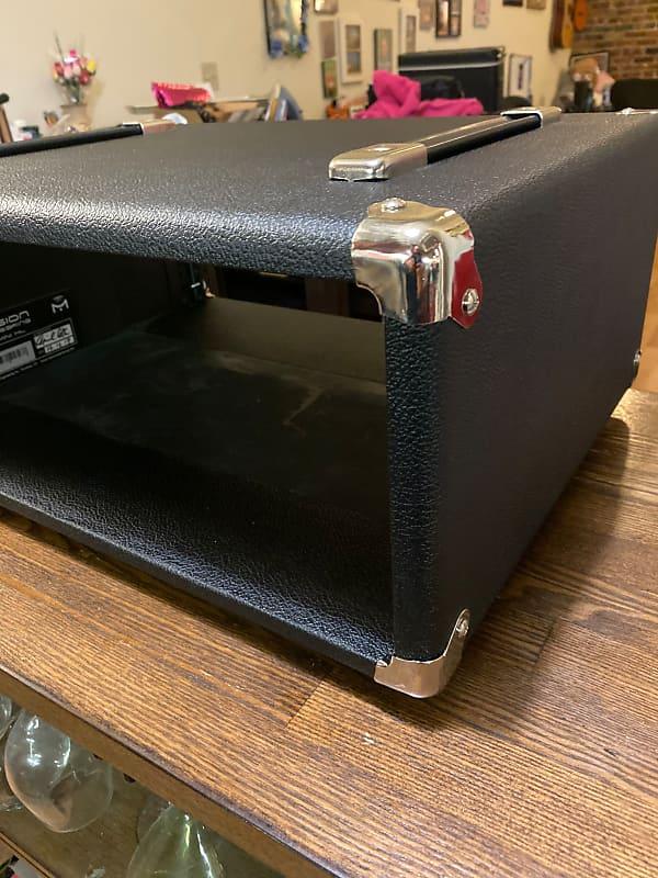 mission engineering gemini h 4u rack case 2017 black reverb. Black Bedroom Furniture Sets. Home Design Ideas