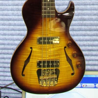 B&G Guitars Big Sister Electric Bass Guitar Tobacco Burst for sale