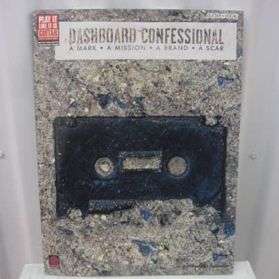 Dashboard Confessional A Mark A Mission A Brand A Scar Sheet Music Song Book Guitar Tab Tablature