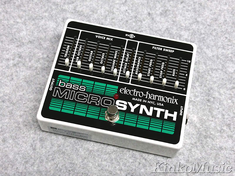 used electro harmonix bass micro synth reverb. Black Bedroom Furniture Sets. Home Design Ideas