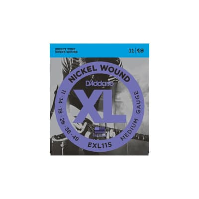 D´Addario EXL115 11-49 Electric Strings