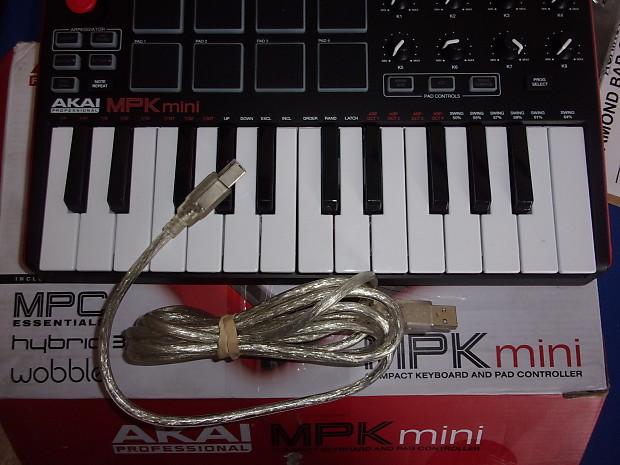 Akai Professional MPK Mini compact keyboard and pad | Reverb