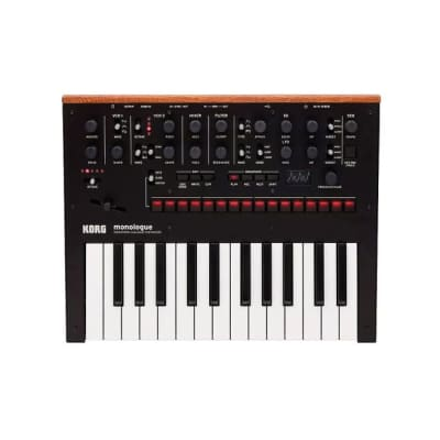 Korg Monologue Black - Monophonic Analogue Synthesizer [Three Wave Music]