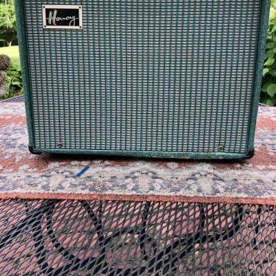 Harmony H305a 1966 Turquoise for sale