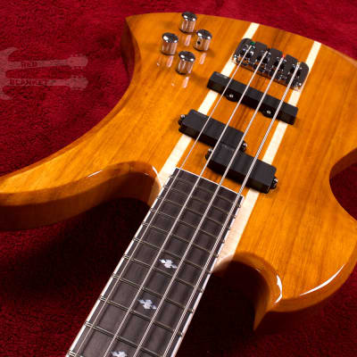B.C. Rich Heritage Classic Mockingbird Bass 2019 Koa HCMBKOA for sale