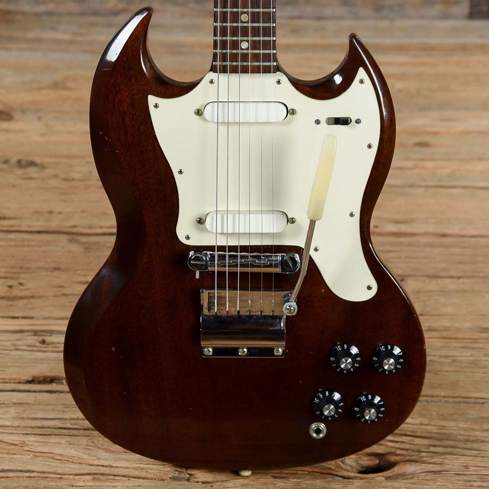 Gibson Melody Maker D Brown 1968 (s153)