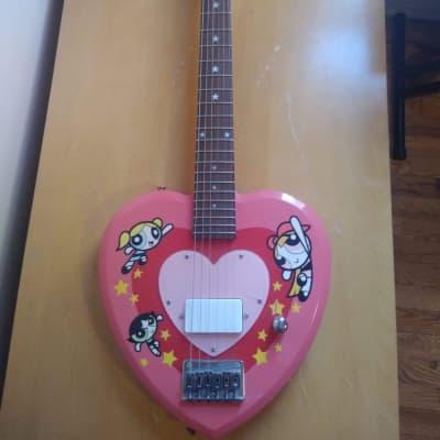 *RARE* Powerpuff Girls Guitar Collectible 1/100 for sale
