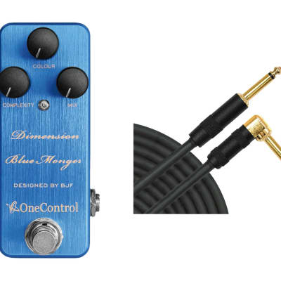 One Control Dimension Blue + Mogami Cable for sale