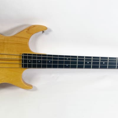 1980 Kramer DMZ 4001 • Factory Half Fretted (find another) • Natural • Exc Orig Cond • HC for sale