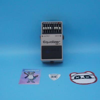 Boss GE-7 Graphic EQ | Rare (Black Label) ACA Version | Fast Shipping!