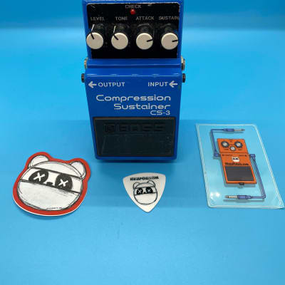 Boss CS-3 Compression Sustainer | Rare (Black Label) ACA Version | Fast Shipping!