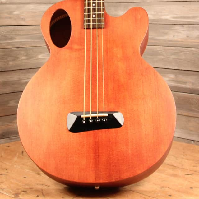 Spector Timbre TB4 Acoustic/Electric Bass Guitar (Walnut Stain Matte) image