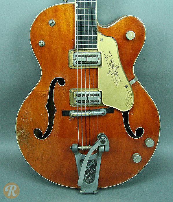 gretsch 6120 chet atkins orange 1958 reverb