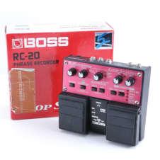 Boss RC-20 Loop Station Looper Guitar Effects Pedal P-05480