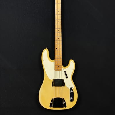 1971 Fender Telecaster Bass in blond finish with original case for sale