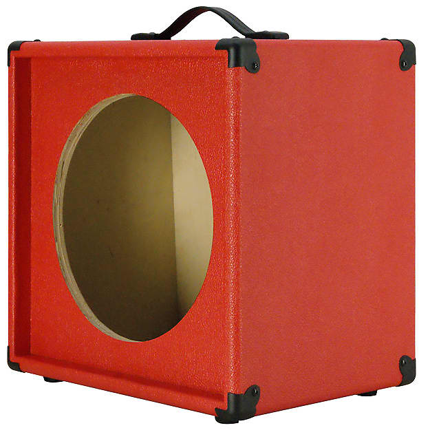 1x12 guitar speaker extension cabinet empty fire red texture reverb. Black Bedroom Furniture Sets. Home Design Ideas