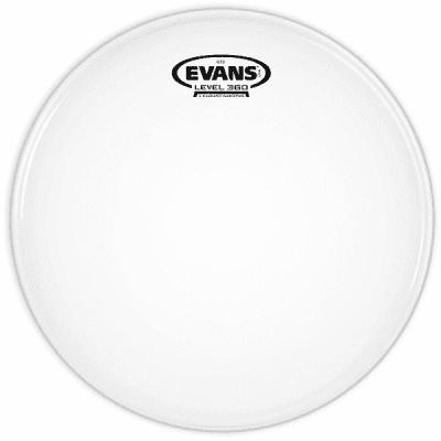 "Evans B18G12 G12 Coated White Drum Head - 18"""