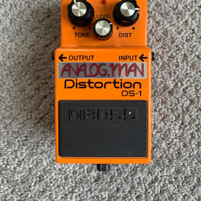 Analogman modified Boss DS-1 distortion mod for sale
