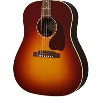 Gibson J-45 Studio Rosewood Acoustic Electric Guitar in Rosewood Burst