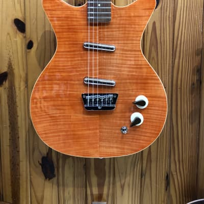 DANELECTRO DK59 DIVINE SERIES FLAME MAPLE for sale
