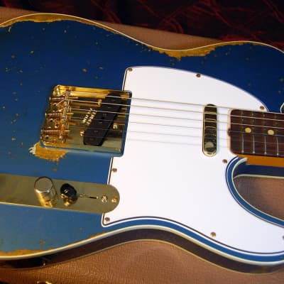 NEW! 2019 Fender 60 Heavy Relic Telecaster Lake Placid Blue Tele Custom Shop Authorized Dealer for sale