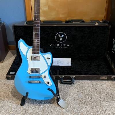 Veritas Mini Master Craftsman Guitar 2018 Blue for sale