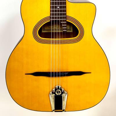 Guitare Acoustique Jazz Manouche CIGANO GJ5 en Epicéa Massif for sale