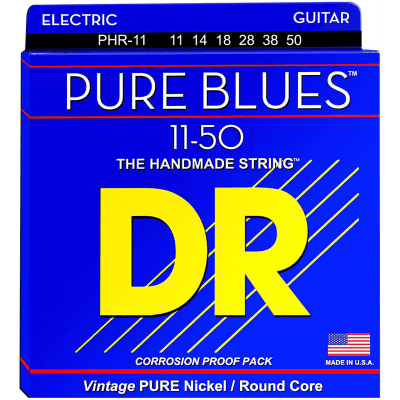 DR Pure Blues PHR-11 Electric Guitar Heavy 11-50