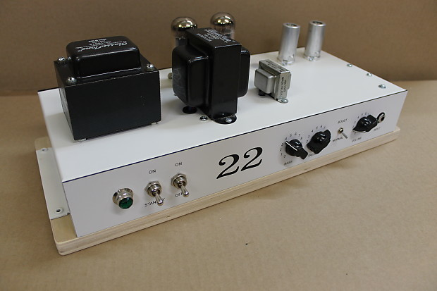 NEW Avatar 22 Guitar amplifier 6V6 power tubes, boost circuit, (2) 12AX7  complete Chassis