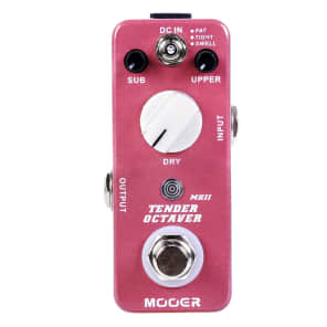 Mooer Tender Octaver MKII Octave Micro Guitar Effects Pedal  Ships Free