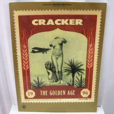 Cracker The Golden Age Guitar Tab Tablature Sheet Music Song Book Songbook