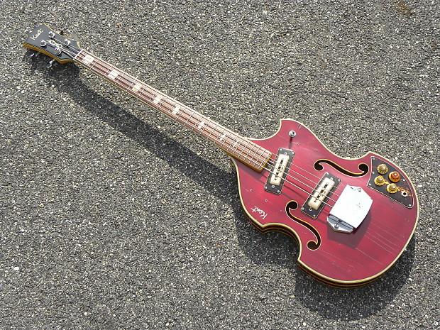 kent kawai teisco model 833 violinbass now only 555 reverb. Black Bedroom Furniture Sets. Home Design Ideas